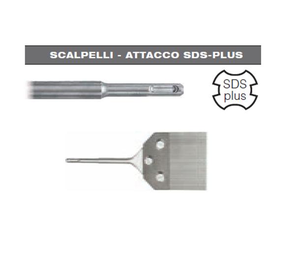 Picture of SCALPELLO SPATOLA SCROSTATORE 100 x 250 CON ATTACCO SDS PLUS HIKOKI HITACHI