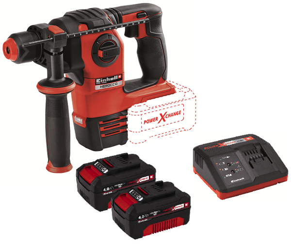 Picture of TASSELLATORE A BATTERIA HEROCCO VOLT 18 Ah 4,0 BRUSHLESS EINHELL IN VALIGIA
