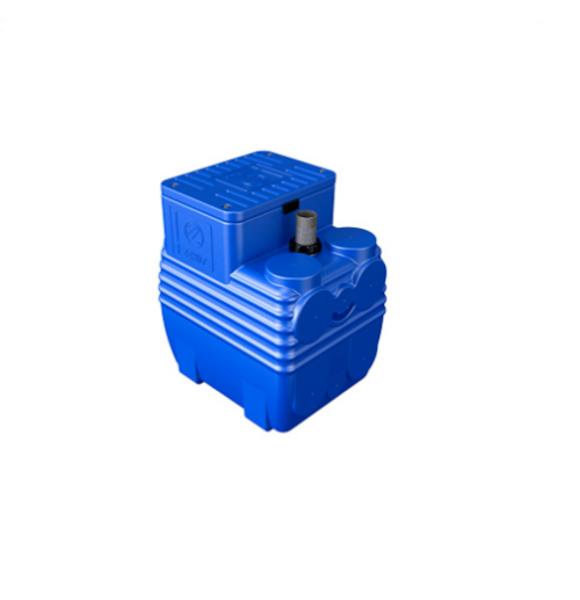 Picture of VASCA DI SOLLEVAMENTO BLUEBOX 150 LITRI + FIX + PVC 1 1/2 NOGALL ZENIT