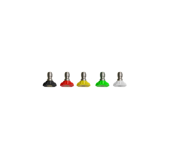 Picture of KIT 5 NOZZLES D 1.30 QUICK COUPLING FOR HIGH PRESSURE WASHER