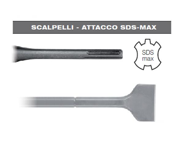 Picture of SCALPELLO A SPATOLA 50 x 300 CON ATTACCO SDS MAX HIKOKI HITACHI PER MARTELLO